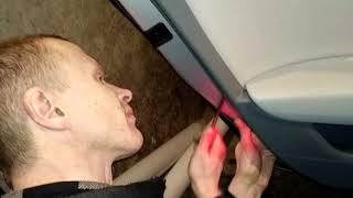 Как снять обшивку карту задних дверей AUDI A6 C7 demontaz boczka drzwi tyl/back door panel removal!