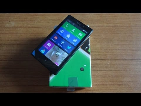 Nokia XL Unboxing