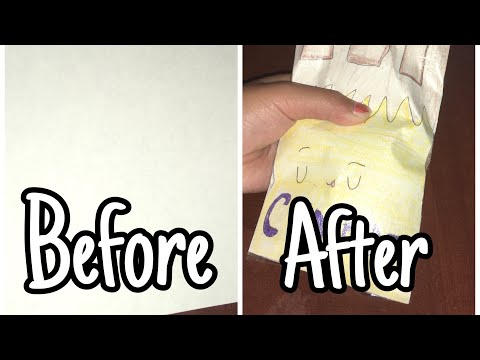 HOW TO MAKE A PAPER SQUISHY!!