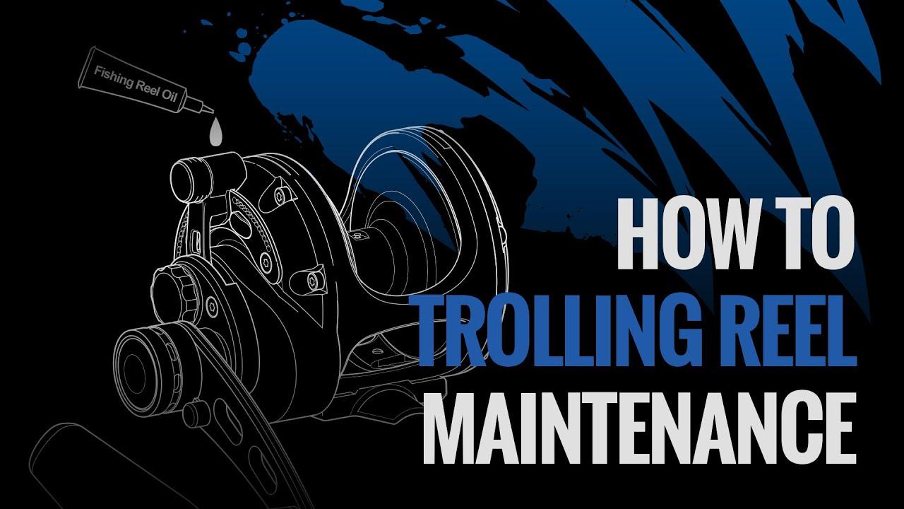 OKUMA Cals - 捲線器專用保養油&鼓式捲線器保養示範 - YouTube