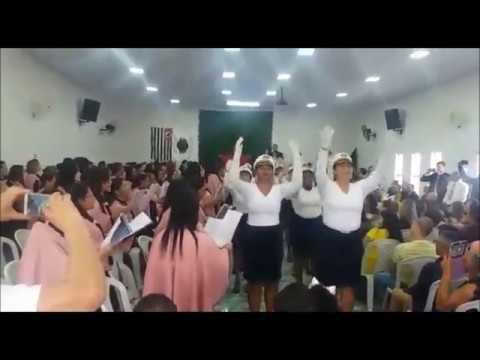 Fabiana Anastácio | Mulher Marcha- Coreografia (Congr. Geral de Irmãs/ Assem.De Deus Min.JD Brasil)