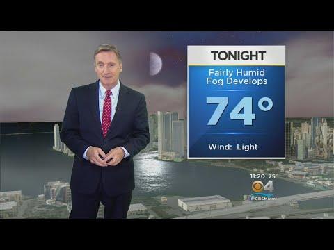 CBSMiami.com Weather @ Your Desk 4-23-18 11PM