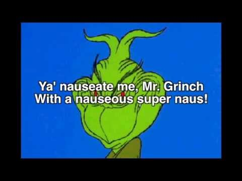 Grinch Choir Song with lyrics