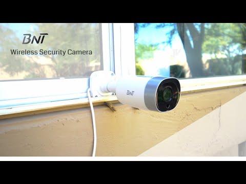 BNT - Wireless Security Camera - Unbox & Setup