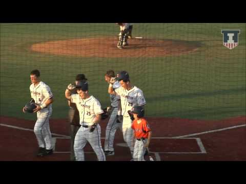 Illinois Baseball Highlights vs. Western Michigan 4/18/17