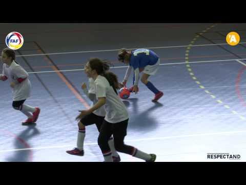 J04 CE Comapedrosa vs FC Santa Coloma (Lliga BSA Futsal Femeni PreBenjami-Benjami 2016_17)