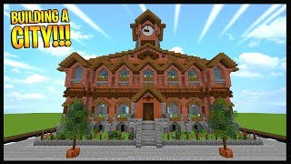 Minecraft Town Hall Jordan Linna