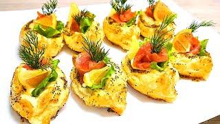 Съедаются подчистую! Красивые закуски, которые обязательно должны быть на вашем столе!