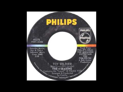 The Four Seasons - Betrayed / Toy Soldier 1965  Philips 40268
