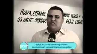 Programa Gente na Tv Jangadeiro -Band Matéria com a  Igreja Inclusiva