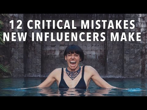 How To Get Internet Famous: 12 Mistakes New Influencers Make
