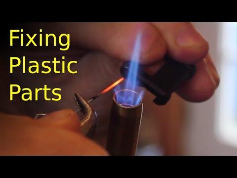 BEST way to fix plastic parts (PROVEN method)