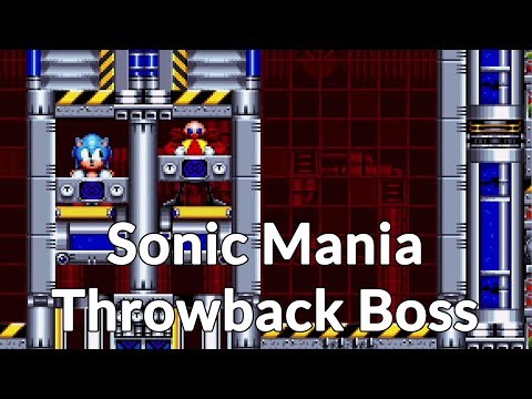 Sonic Mania's Chemical Plant Zone boss is a genius SEGA throwback - spoilers!