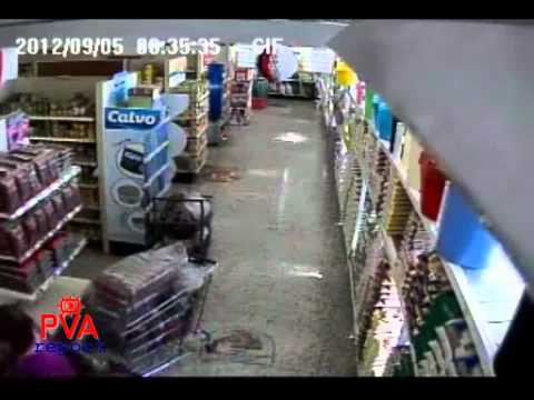 Earthquake in Costa Rica Live Footage 09/05/2012