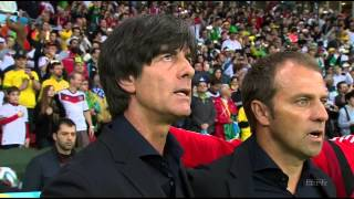 National Anthems World Cup 2014. Germany - Algeria. HD