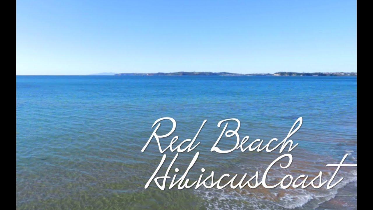 Red Beach Hibiscus Coast New Zealand