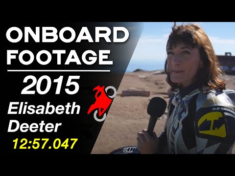 Elisabeth Deeter - 2015 Pikes Peak International Hill Climb - PPIHC