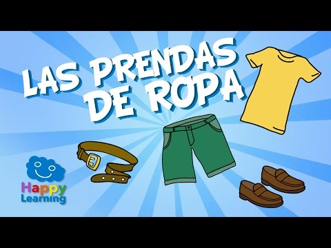 Spanish For Children  Clothes & Accesories | Learn Spanish