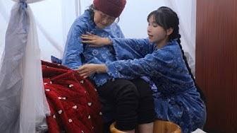 (EP2)蓝草的一生?蓝印花布的一生?还是李子柒花裙子的一生?The life of blue calico dresses hand-dyed by Li Ziqi?