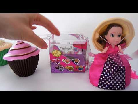 Let's go Playdoh Cupcakes dolls review
