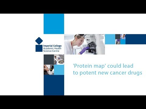 'Protein map' could lead to potent new cancer drugs