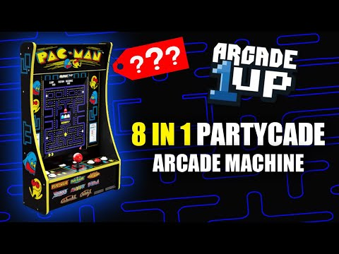 Arcade1Up 8-in-1 Pac-Man Partycade Arcade Machine REVIEW! from Arcade Warrior