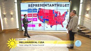 USA-valet – en rysare - Nyhetsmorgon (TV4)