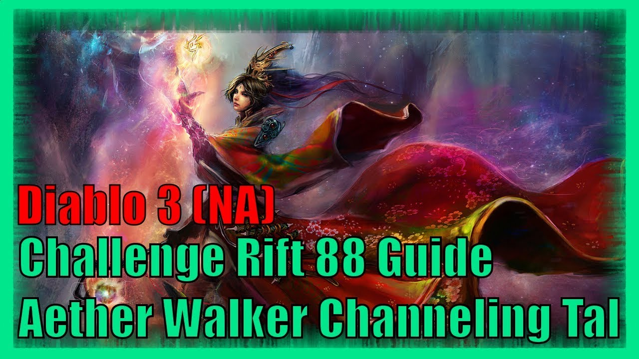 Diablo 3 Challenge Rift 88 North America Map And Guide Youtube