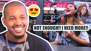 morissette performs never enough the greatest showman ost live on wish 1075 bus reaction