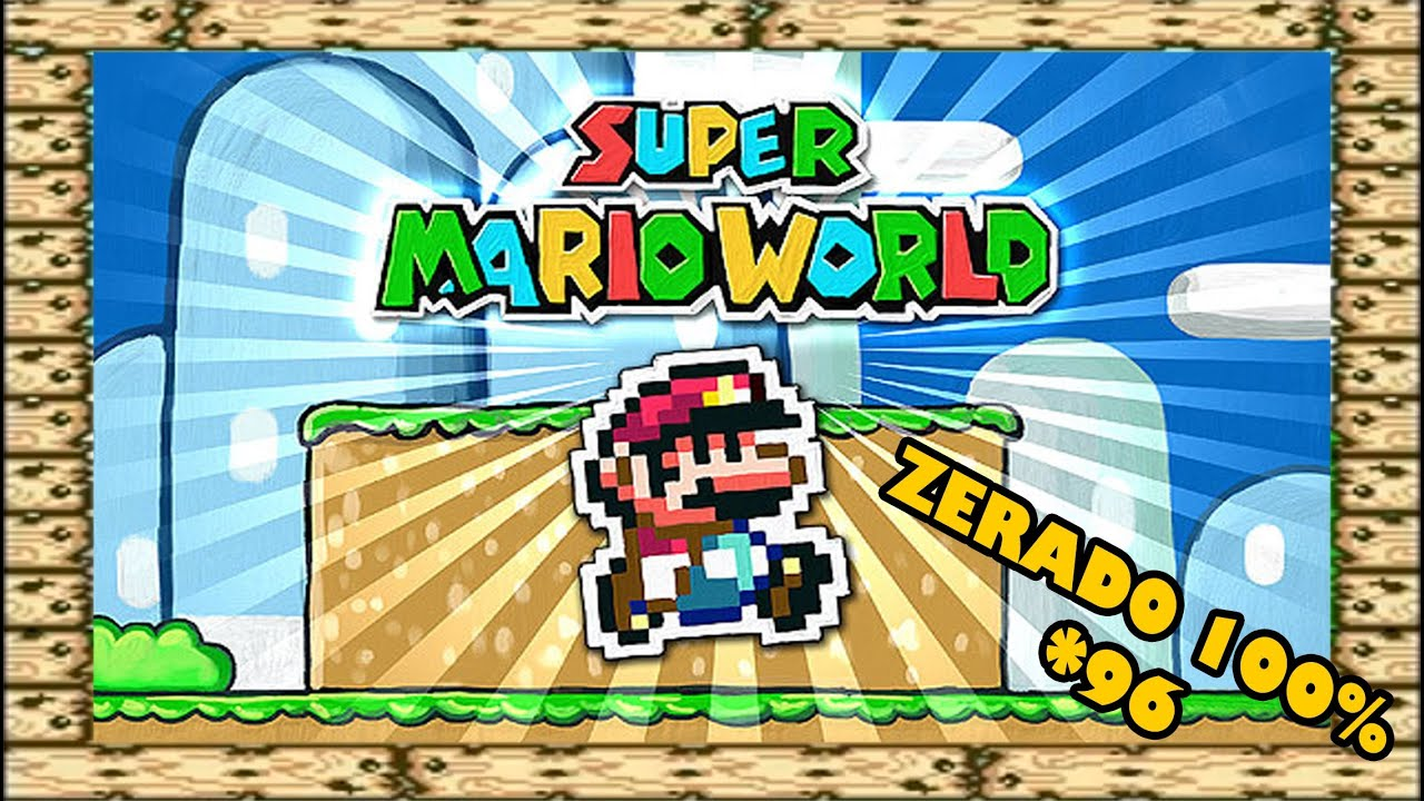 Amazing Super Mario World   Zerado Completo   100%   YouTube