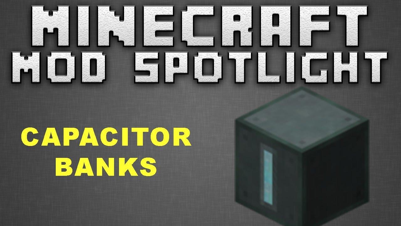 Minecraft | ENDER IO | Capacitor Bank | 1 7 10