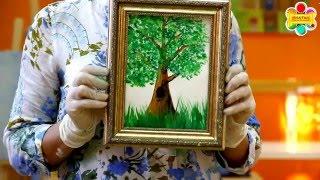 """Правополушарное рисование """"Дерево с нуля"""". Бесплатный мастер-класс от школы Артефакт."""