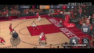 NBA LIVE MOBILE HONEST GAMEPLAY||BY GM TECHNICAL POINT