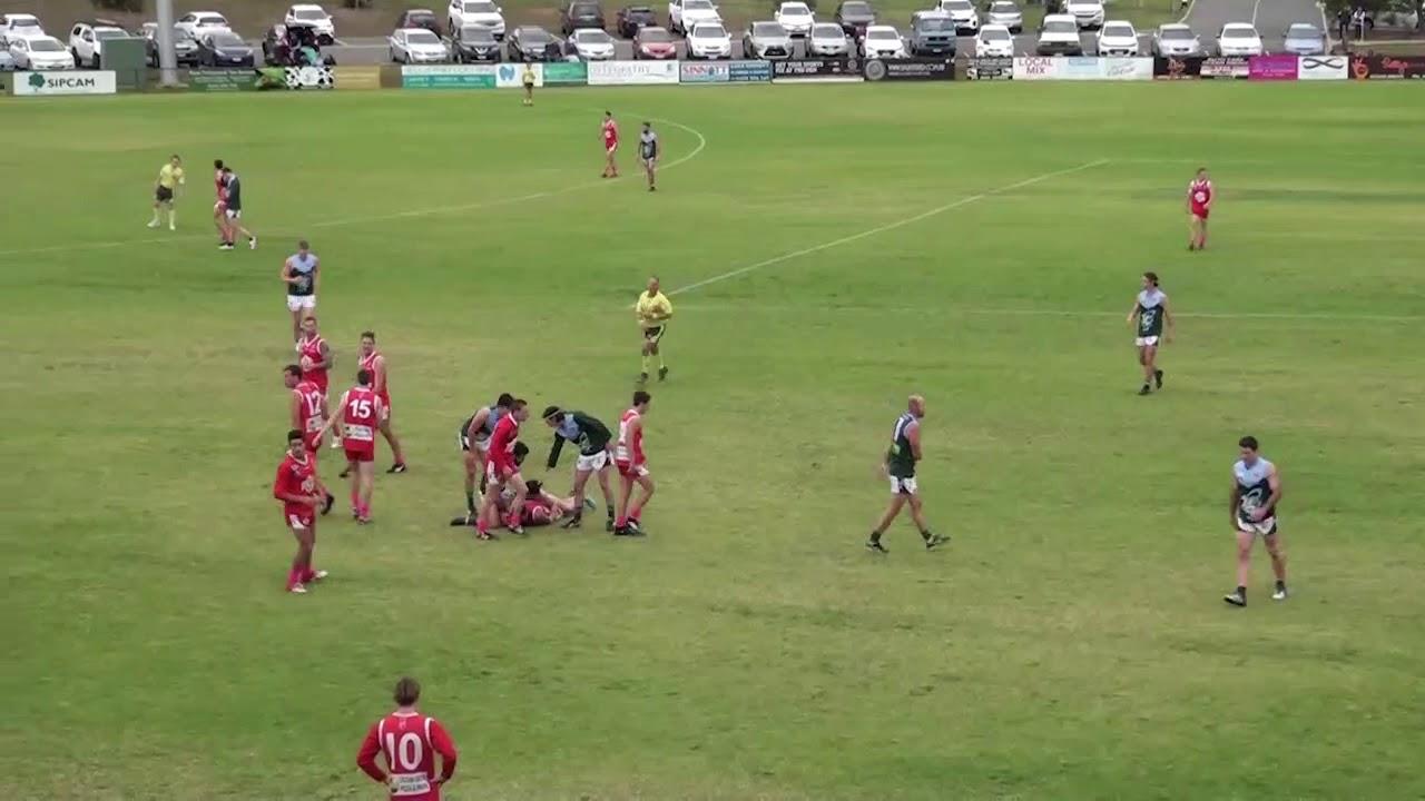 Rd 6   Ocean Grove vs Geelong Amateurs Ball Ups