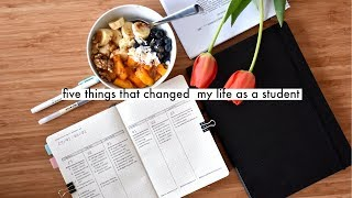 5 HABITS THAT CHANGED MY LIFE » simplifying