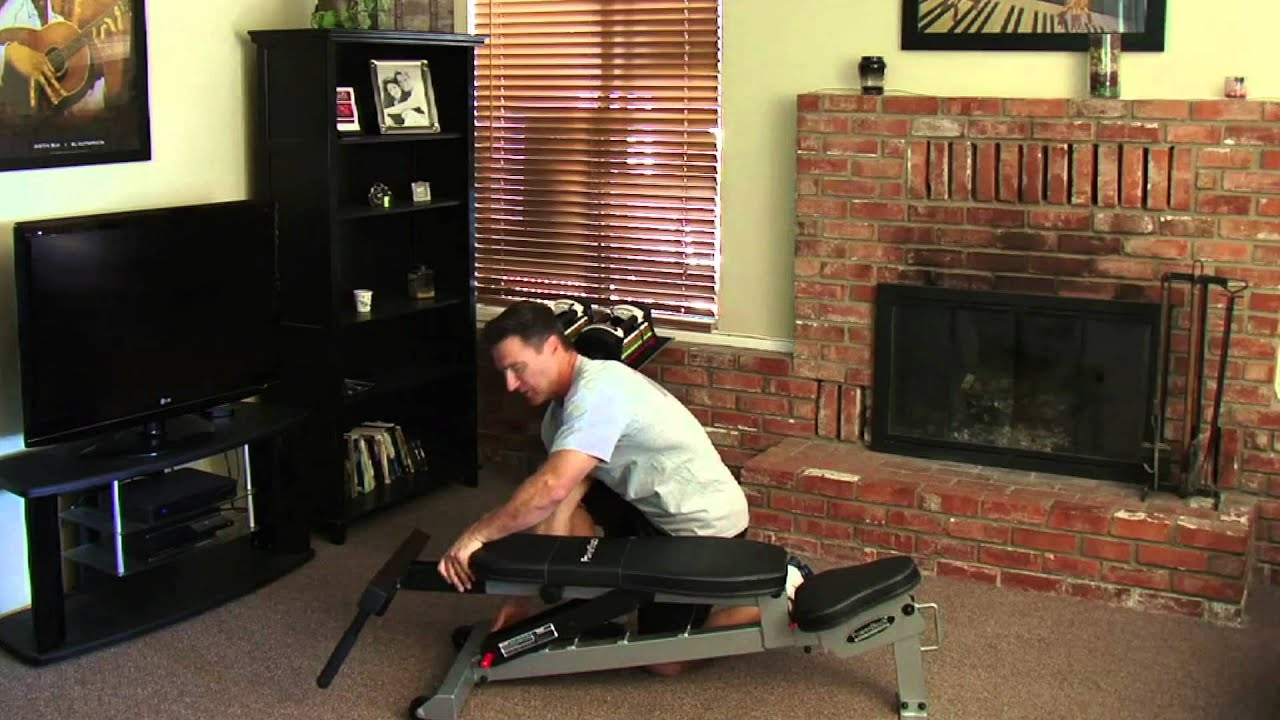 Powerblock Sport Bench Accessories Youtube