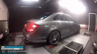 Reprogrammation Moteur Mercedes Classe C63 AMG 457hp (Réel: 400hp) @ 490hp par BR-Performance