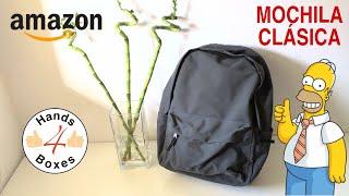 AmazonBasics - Classic Backpack - Grey - Mochila de estilo clásico - Gris