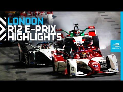 Race Highlights   2021 Heineken® London E-Prix   Round 12