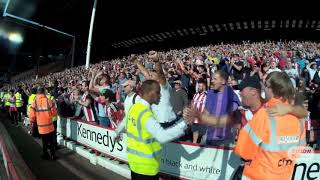 KopCam: Fans celebrate Derby win