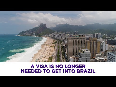 U.S. Citizens Will No Longer Need A Visa To Travel To Brazil