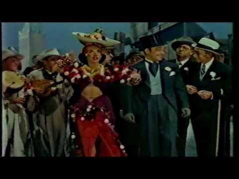 Carmen Miranda sings Brazil