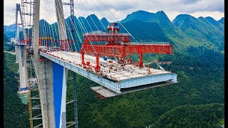 First time in the world! - The Chinese built a skyscraper bridge.