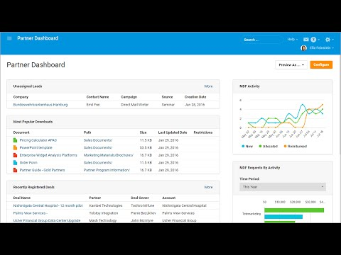Channeltivity's Partner Relationship Mangement Software - New Interface Sneak Peak