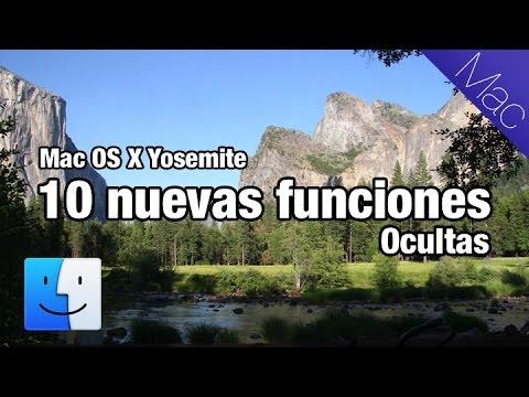 10 nuevas funciones increibles de Yosemite Mac OS X