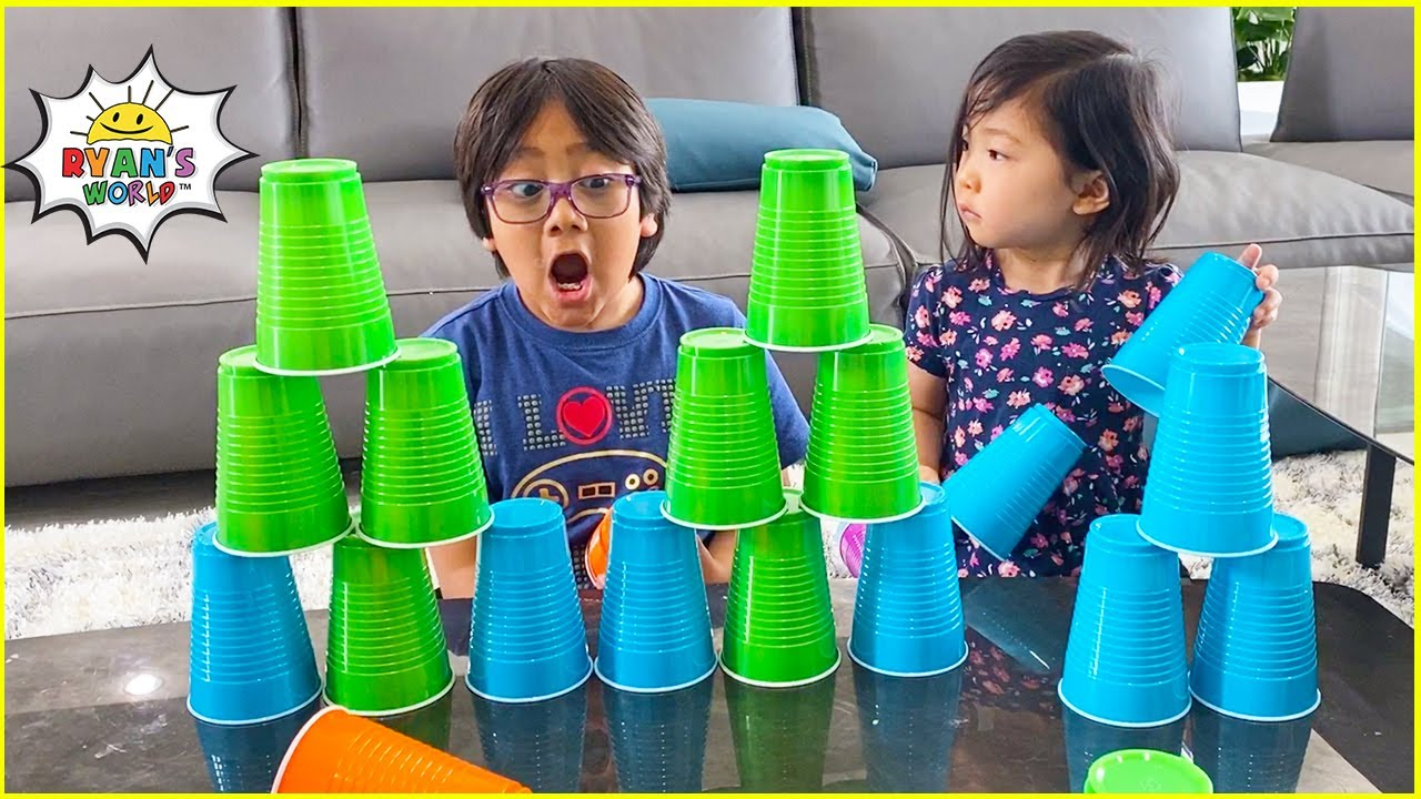 10 things to do at home for kids! | Ryan's World fun kids activities