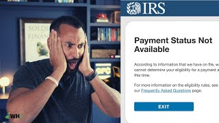 IRS Stimulus Check Status | Common Errors FAQ