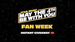 Sideshow Instant Giveaway!