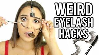 5 WEIRD Mascara Hacks w/ NataliesOutlet!