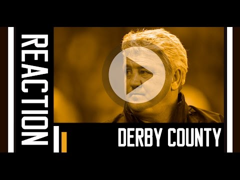 Derby County v The Tigers | Reaction With Steve Bruce | 5th April 2016